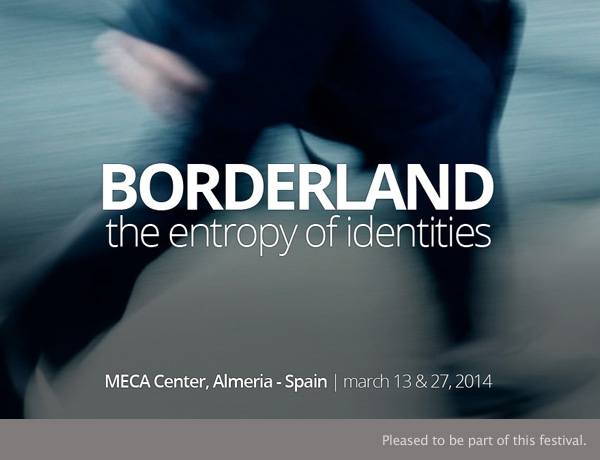 Exhibition announcement for BORDERLAND – The entropy of identities, Spain